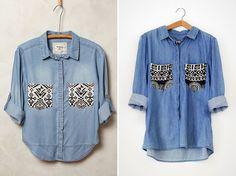 DIY: Anthropologie-inspired shirt