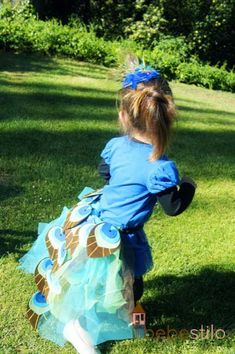 disfraz casero para niños: pavo real / kids homemade costume: peacock  #kids #costume #disfraz #niños