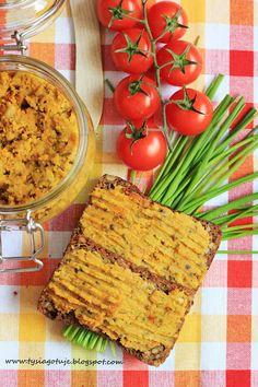 ♥ Witaj w moim kulinarnym świecie ♥: Pasztet z soczewicy czerwonej.