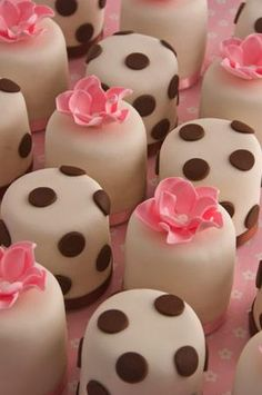 Pink Petits Fours
