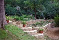 Basalite Terrace Wall Tan Retaining Wall