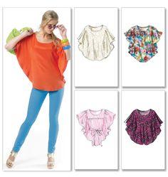 mccall pattern, angel wings, blous, angel top, belt, shirt diy pattern, sewing patterns