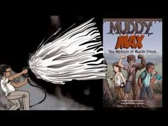 ▶ MUDDY MAX THE MYSTERY OF MARSH CREEK by Elizabeth Rusch | Book Trailer (MG Graphic Novel. Fantasy/Mystery)