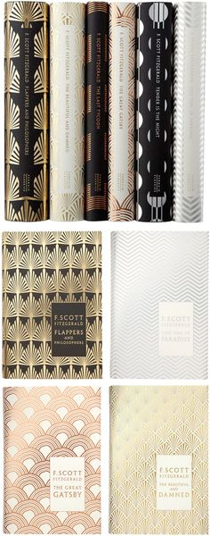 the most glam deco Book covers