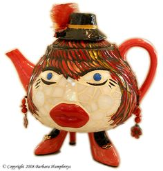 Tea pots are whimiscal.  It is always important to laugh and have a sense of humor..