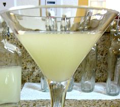 Marshmallow martini -This recipe calls for vodka-infused marshmallows, but if you're short on time Pinnacle's marshmallow flavored vodka is a tasty substitute