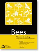 Have fun while learning all about bees with our newest Family Literacy Bag!