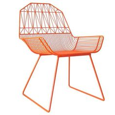 BEND by Gaurav Nanda Uses Shaped and Spot-Welded Metal #patio #outdoorfurniture trendhunter.com