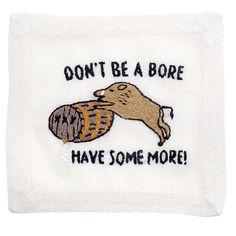 """Don't Be A Bore"" Cocktail Napkin Set"