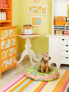 easy sew dog bed with instructions