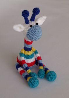 crochet toy, giraff amigurumi