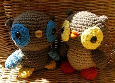 Little Owl - free crochet pattern