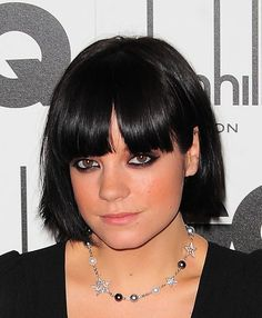 short black bob hairstyle