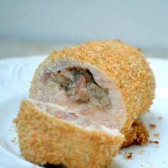 Bacon-Mushroom Stuffed Chicken