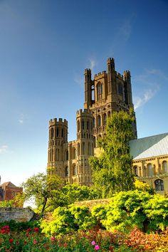 Ely Cathedral, Cambridgeshire, England,