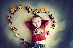 Perfect boy photo.  Would be fun with legos, too.