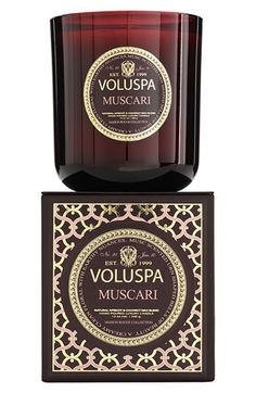 Voluspa 'Maison Rouge - Muscari' Scented Candle available at #Nordstrom