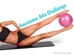 Doing this abdominal workout 3 x's weekly for the next 30 days.