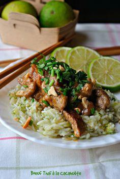 Boeuf Thaï à la Cacahuète #Boeuf #Beef #Recette #Recipe #Cuisine #Cooking