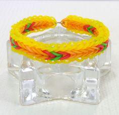 APPLE-JACK-Inspired-Friendship-Bracelets-My-Little-Pony-Handmade-Bracelet