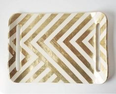 golden zig zag project idea for the new house!
