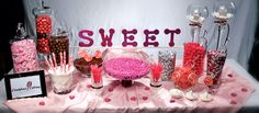 Sweet 16 Candy Buffet Idea - Candyland Catering
