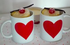 Recette du mug cake coco-vanille : http://www.modesettravaux.fr/recette-mug-cake-coco-vanille #mugcake #recette #recipe