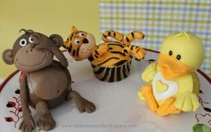 cupcak tutori, cake decor, anim cupcak, animal cupcakes