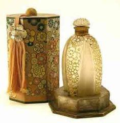 René Jules Lalique - Toutes Les Fleurs perfume bottle for Gabilla with original box