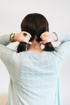 Here's how to DIY the easiest updo ever –promise!