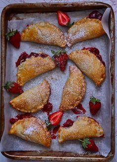 Mmmm, strawberry hand pies