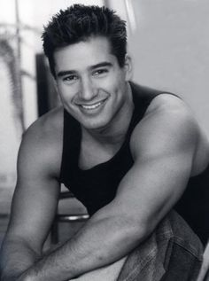 Mario Lopez...In my dreams since Saved by the Bell!