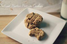 5 Ingredient Peanut Butter Protein Cookies