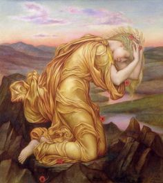 Demeter Mourning for Persephone, 1906, by Evelyn Pickering de Morgan