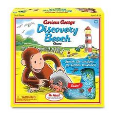 Curious George Discovery Beach Game [Vintage]$29.99
