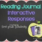 read journal, reading journals, journal activ