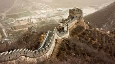 Each year 9 to 10 million people visit The Great Wall, which stretches for 5,500 miles across China #greatwall #china