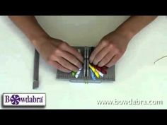 DIY Video tutorial on how to Make a Korker Bow