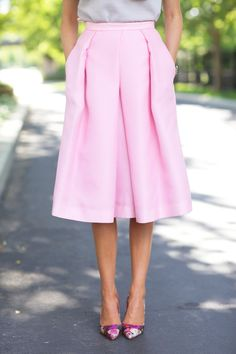 pink midi + floral h
