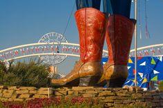 Ol' Big Tex's Boots