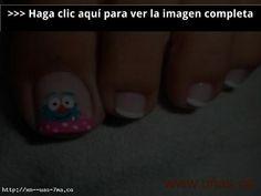 fotos de uñas de los pies decoradas