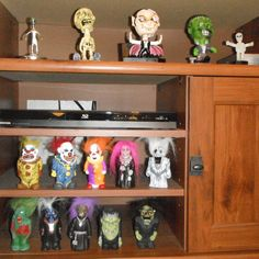 Bobbleheads and squeaky toys