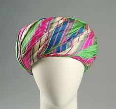 Turban  Sally Victor, 1960  The Metropolitan Museum of Art