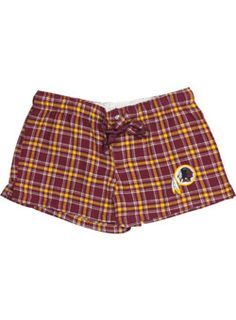 LADIES REDSKINS HARMONY SHORT