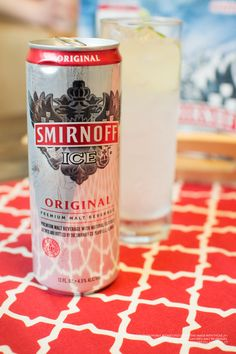 Need an easy way to chill out on a hot summer day? A 12 pack of Smirnoff Ice will do the trick!