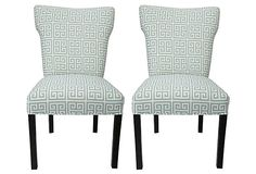 Nikolette Wingback Chairs, Pair on OneKingsLane.com