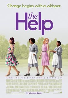 The Help. 2011.   I like this poster better then the yellow one. (Pie!)
