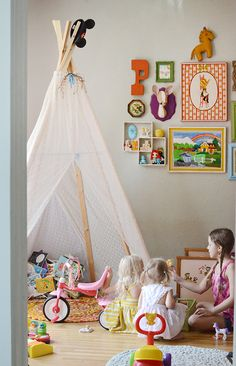 Love this for a kids playroom/bedroom