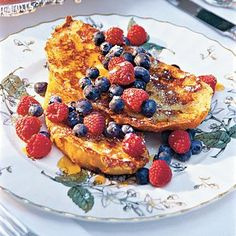"Pain Perdu | In French, French toast is pain perdu, or ""lost bread,"" because it's made from stale bread. 