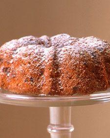 Carrot-Pecan Cake (from Martha Stewart